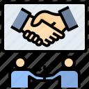 negotiation, handshake, partnership, agreement, deal, collaboration, friendship