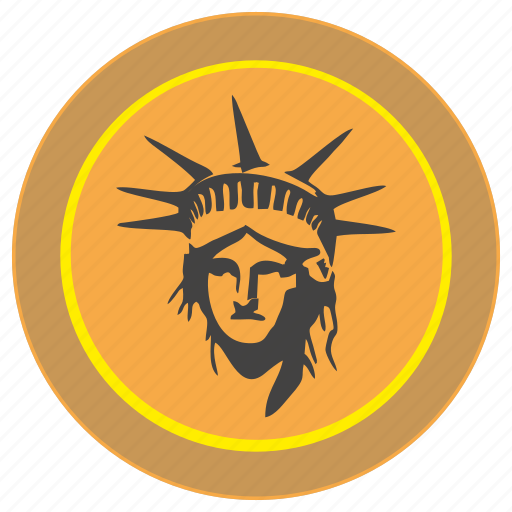 cent, coin, dollar, liberty, money, payment, usa icon