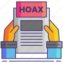 fake, chicanery, hoax icon