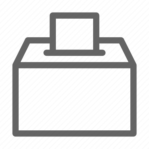 Ballot, box, vote icon - Download on Iconfinder