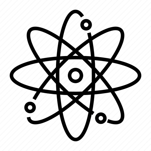 atom, electron, molecule, orbit, physics, science icon