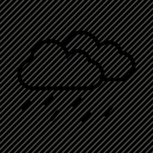 acid rain, carbn dioxide, pollution, raining, weather icon