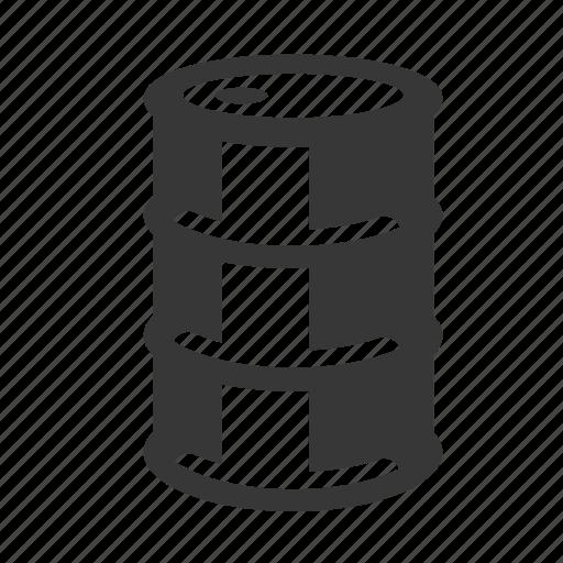 barrel, oil barrel, pollution, raw, simple, toxic waste, waste icon