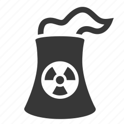 contaminated factory, pollution, radio active, raw, simple, waste icon