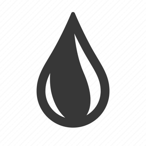 oil drop, pollution, raw, simple, waste icon