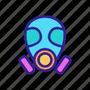 contour, environmental, fun, mask, pollution, theater