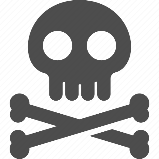 poison, pollution, skull icon