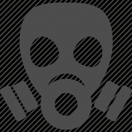 bio, gas, hazard, mask, poison, pollution icon