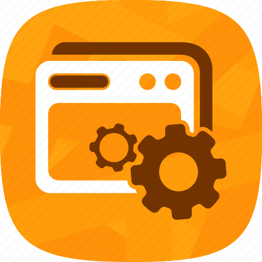 browser settings, configuration icon