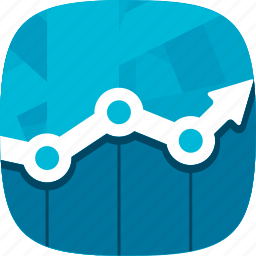 charts, graphics, results, statistics icon
