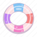 accessory, circle, life buoy, pool, swimming