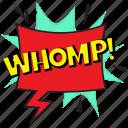 strike sound expression bubble, whomp, whomp bubble, whomp comic bubble, whomp sound depiction icon