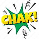 chak, chak bubble, chak comic bubble, chak pop bubble, chk speech bubble icon