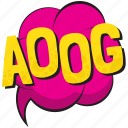 aoog, aoog comic balloon, aoog comic bubble, aoog pop art balloon, aoog speech bubble icon