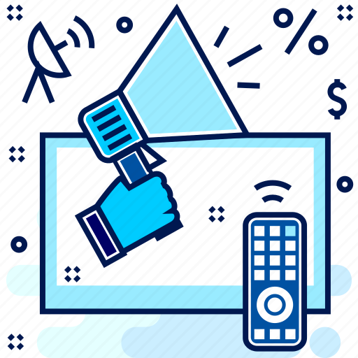 Ad, advertisement, broadcast, media, television icon - Download on Iconfinder