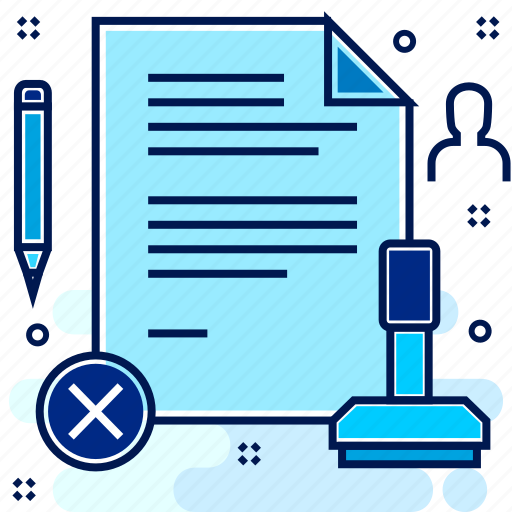 Documents, legal, post, postage, stamp, stamping icon - Download on Iconfinder