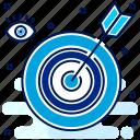 aim, goal, target, bullseye