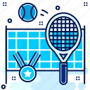 badminton, competition, racket, sports, winner icon