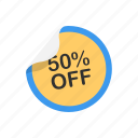 badge, discount, sale, tag icon