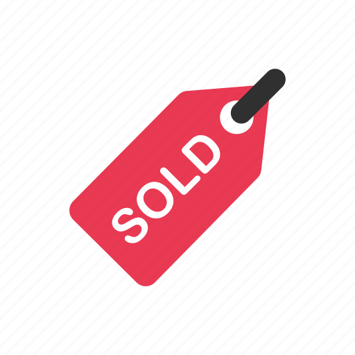 Sell sold sold tag tag icon Download on Iconfinder