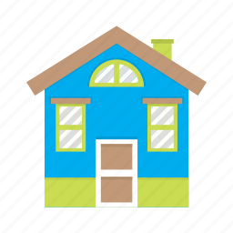 building, dog house, home, house, minimal, simple house icon