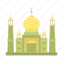 building, islamic, masjid, mosque, muslim, prayer, salat icon
