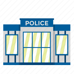building, cia, fbi, pistol, police, police station, soldier icon