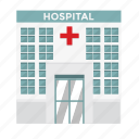 building, doctor, hospital, ill, medicine, nurse, sick icon