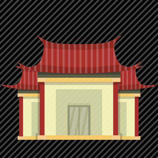 buddha, building, chinese, pray, vihara icon