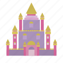 building, collosal, fairytale, kingdom, palace, prince, queen icon