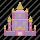 building, collosal, fairytale, kingdom, palace, prince, queen