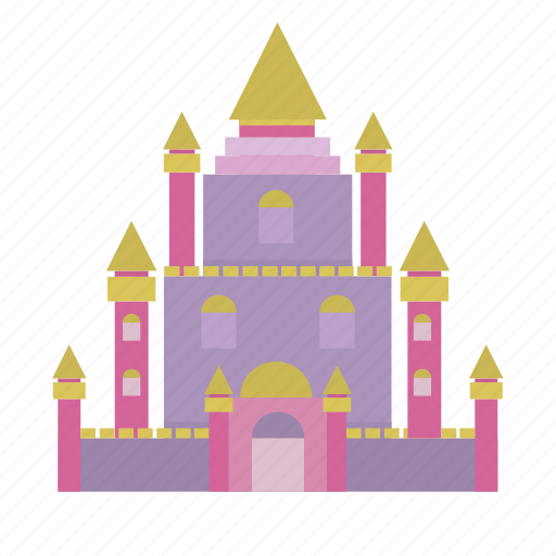 building, collosal, fairytale, kingdom, palace, prince, queen icon