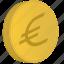 bank, cent, coin, euro, money icon