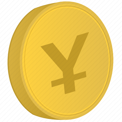 coin, japan, money, yen icon