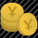 japan, money, stack, bank, yen