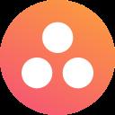 asana, circle, round icon icon