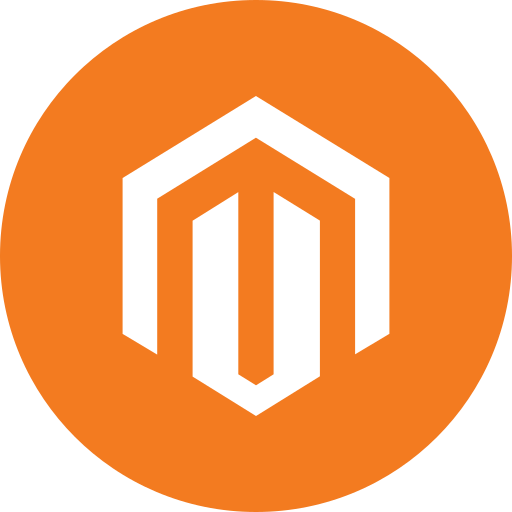 circle, ecommerce, magento, programming, round icon icon