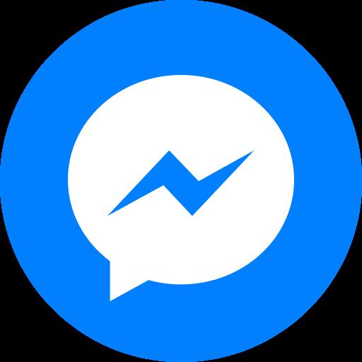 Circle, facebook messenger, messenger, round icon, social icon icon - Free download