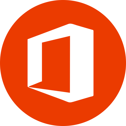 Circle, microsoft, microsoft office, office, round icon icon