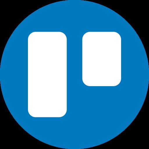 Circle, round icon, trello icon