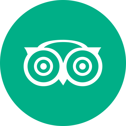 Circle, round icon, travel, tripadvisor icon - Free download