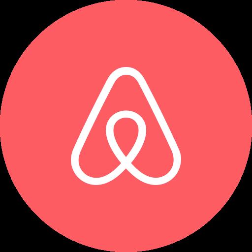 Resultado de imagem para airbnb app icon