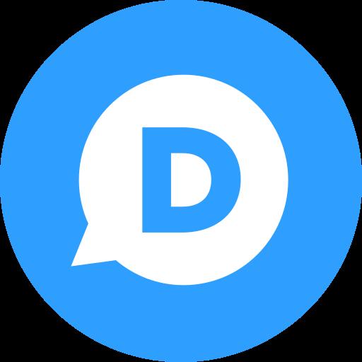 circle, comment, disqus, round icon icon