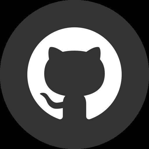 circle, github, round icon icon