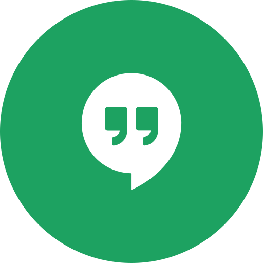 circle, hangouts, message, messaging, messenger, round icon icon