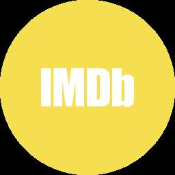 circle, imdb, movies, round icon icon