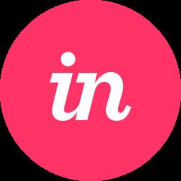 circle, invision, prototype, round icon icon