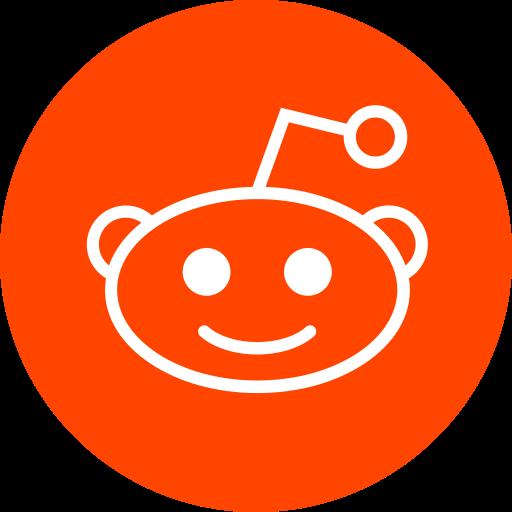 circle, reddit, round icon icon