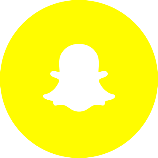circle, photos, round icon, snapchat, social media, social network icon