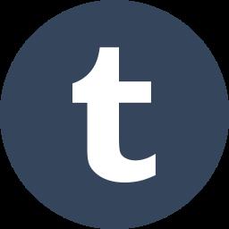 blog, circle, microblog, round icon, social media, social network, tumblr icon
